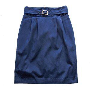TRINA TURK High Waist Cobalt Blue Skirt